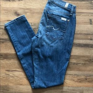 """7 For All Mankind """"Gwenevere"""" size 26"""